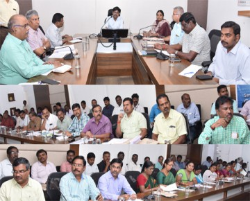 Swachh Survekshan 2018 meeting