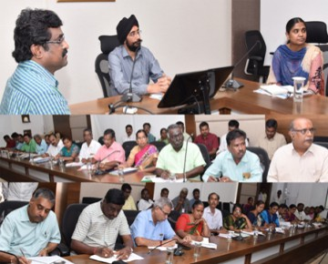 Coimbatore Corporation Smart city Meeting