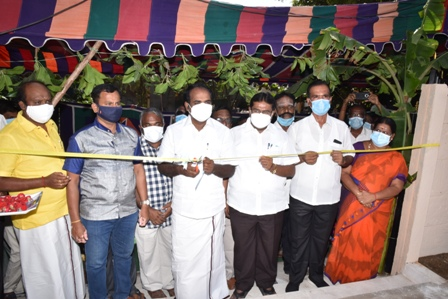 HON'BLE ENVIRONMENT - CLIMATE CHANGE AND YOUTH WELFARE AND SPORTS DEVELOPMENT MINISTER - CHILDRED PARK OPENING FUNCTION PHOTO