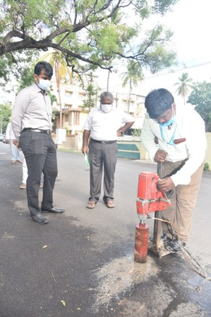 commissioner inspection photo 26.07.21