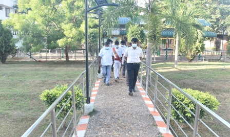 commissioner inspection photo 27.07.2021