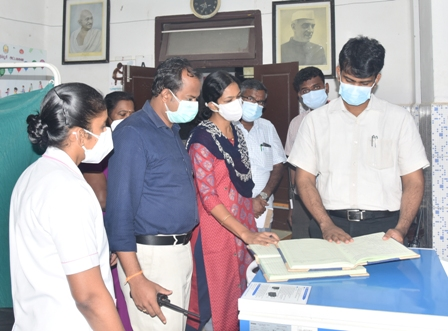 27.07.2021 commissioner inspection photo