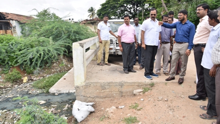 Corporation Commissioner inspection photo