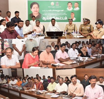Hon'ble LA Minister review meeting