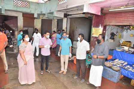 commissioner inspection photo